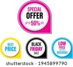 special offer  best price ... | Shutterstock .eps vector #1945899790