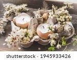 Candles In Eggshells  Quail...