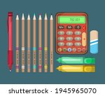 miscellaneous stationery. set... | Shutterstock .eps vector #1945965070