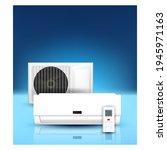 air conditioner repair service...   Shutterstock .eps vector #1945971163