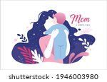 happy mother's day greeting...   Shutterstock .eps vector #1946003980