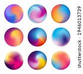 multicolored blurred vector...   Shutterstock .eps vector #1946013739
