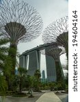 singapore   may 12  gardens by... | Shutterstock . vector #194604164