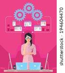 software designer | Shutterstock .eps vector #194604470