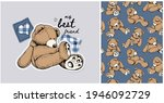collection of one print and one ... | Shutterstock .eps vector #1946092729