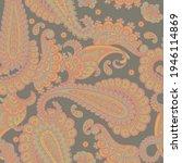 paisley vector seamless pattern ... | Shutterstock .eps vector #1946114869