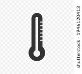 transparent thermometer icon...