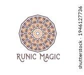 asian ornamental emblem.... | Shutterstock . vector #1946127736