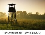 Lookout Tower For Hunting At...