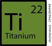 icon of chemistry element....