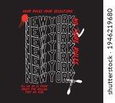 newyork urban typography for t...   Shutterstock .eps vector #1946219680