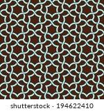 arabesque. seamless pattern.... | Shutterstock .eps vector #194622410