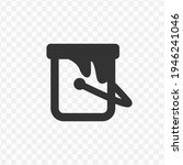 transparent paint can icon png  ...