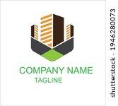 best construction building logo ... | Shutterstock .eps vector #1946280073