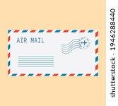 air mail. envelope  message ... | Shutterstock .eps vector #1946288440