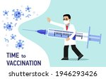 people vaccination concept for...   Shutterstock .eps vector #1946293426