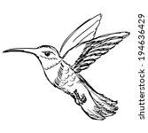 hand drawn  sketch  cartoon... | Shutterstock .eps vector #194636429