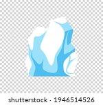 Iceberg. Cartoon Floating...