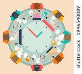 time management concept...   Shutterstock .eps vector #1946540089