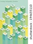 vector set of infographic...   Shutterstock .eps vector #194655110