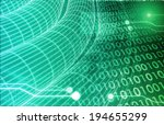 web information technology art... | Shutterstock . vector #194655299