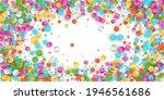 colored carnaval confetti...   Shutterstock . vector #1946561686