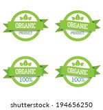 organic badges | Shutterstock .eps vector #194656250
