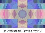 geometric design  mosaic of a... | Shutterstock .eps vector #1946579440