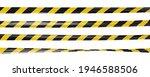 realistic vector crime tape... | Shutterstock .eps vector #1946588506