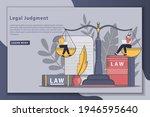 flatline style designs legal... | Shutterstock .eps vector #1946595640