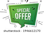 special offer tag  special...   Shutterstock .eps vector #1946612170