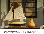 A Humidifier And A Wooden Ship...