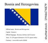 bosnia and herzegovina national ...   Shutterstock .eps vector #1946674879