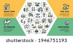 vector smart farm icon... | Shutterstock .eps vector #1946751193