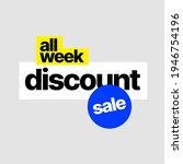 discount banner template.... | Shutterstock .eps vector #1946754196