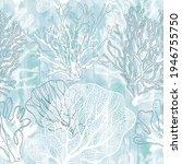 Seaweed. Seamless Vector...