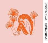 summer vector illustration with ... | Shutterstock .eps vector #1946780050