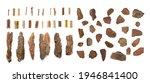 pine  cedar or oak tree bark...   Shutterstock . vector #1946841400