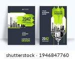 corporate book cover design... | Shutterstock .eps vector #1946847760