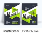 corporate book cover design... | Shutterstock .eps vector #1946847763