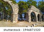 Remains Of Roman Aqueduct In...