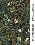 magical forest. botanical... | Shutterstock .eps vector #1947060406