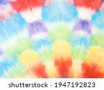 tie dye pattern. beautiful... | Shutterstock . vector #1947192823