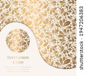 gold and white luxury... | Shutterstock .eps vector #1947206383