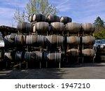 wine barrels | Shutterstock . vector #1947210