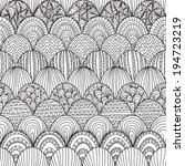 elegant seamless pattern with... | Shutterstock . vector #194723219