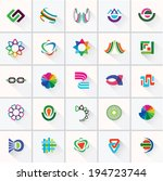 abstract colorful design... | Shutterstock .eps vector #194723744