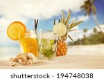 Exotic Summer Drinks With Sea...