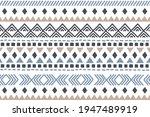 ethnic vector seamless pattern. ...   Shutterstock .eps vector #1947489919