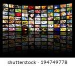 lcd tv panels. television... | Shutterstock . vector #194749778